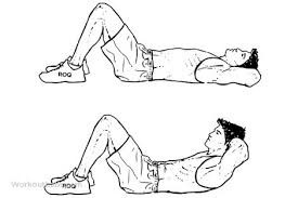 Crunches-for-hip-tuck-removal